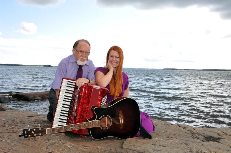 Kaj Kulla och Charlotta Kerbs. Foto: Maria Manelius