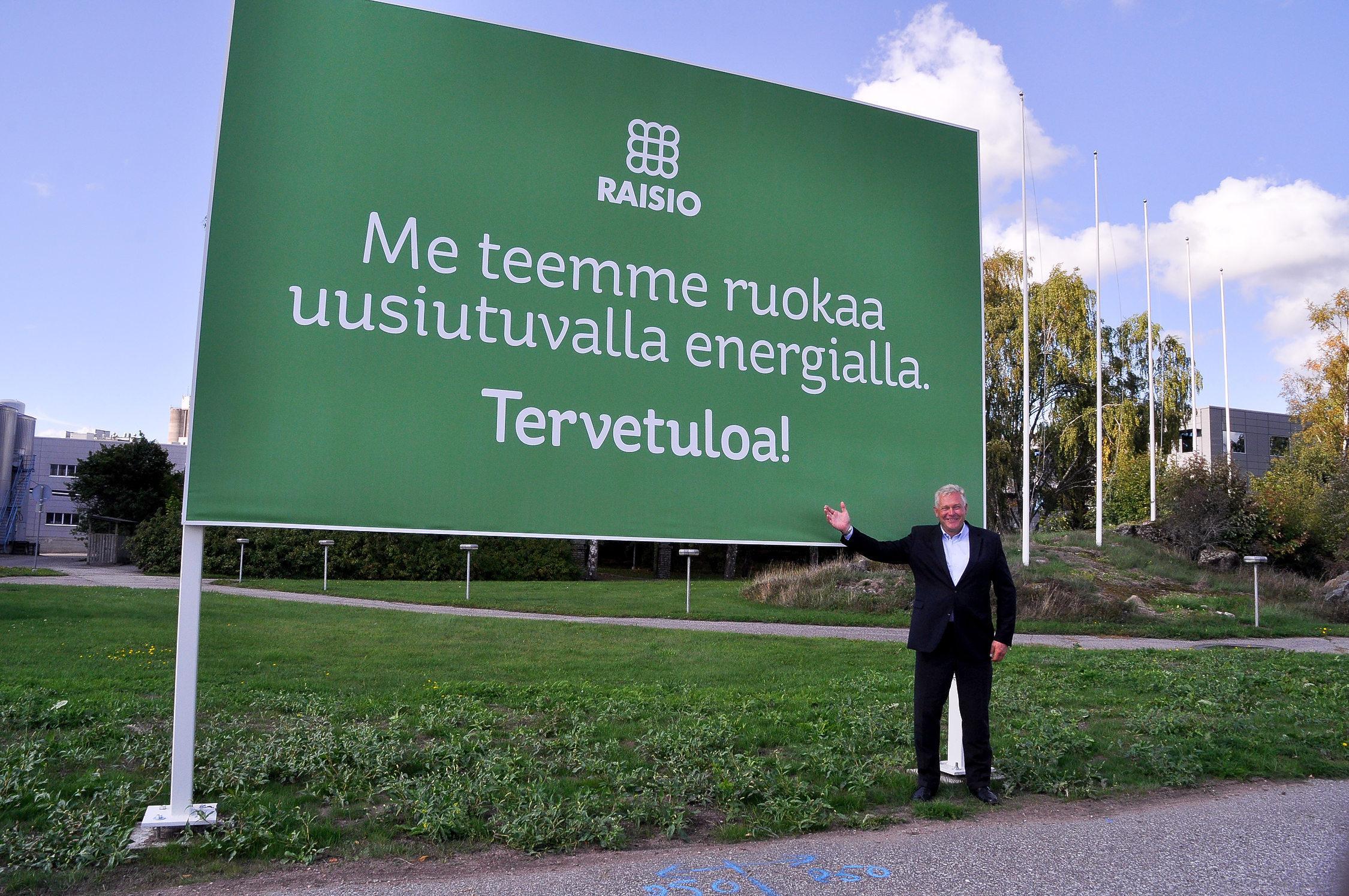 Sjunkande aktiekurs oroar inte Raisos vd Pekka Kuusniemi – nu vill koncernen  bli större inom hälsosamma livsmedel