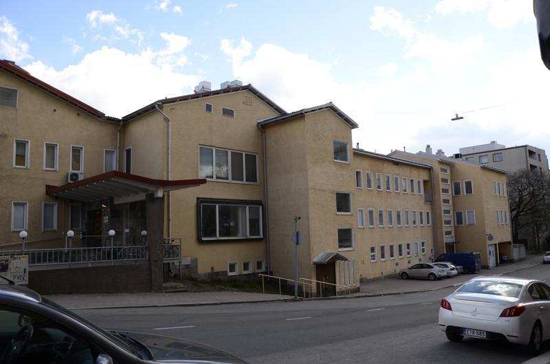 Åbolands sjukhus. ÅU-foto