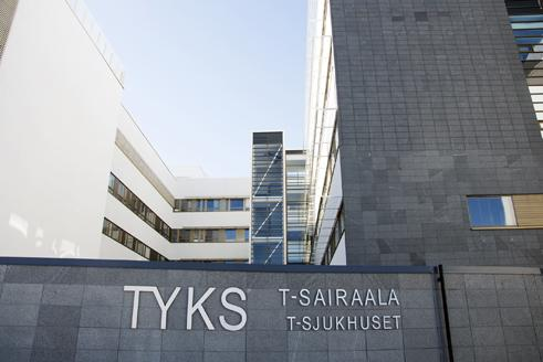 T-sjukhuset. ÅU-foto
