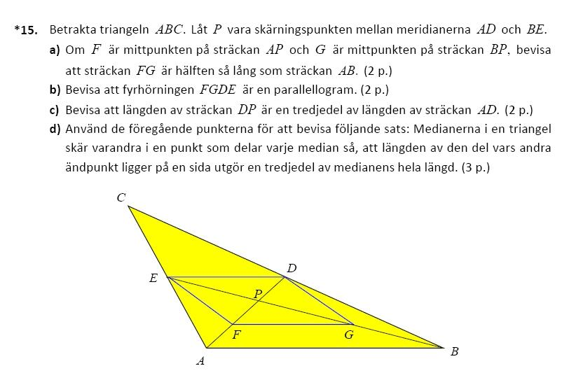 Matematikuppgiften.