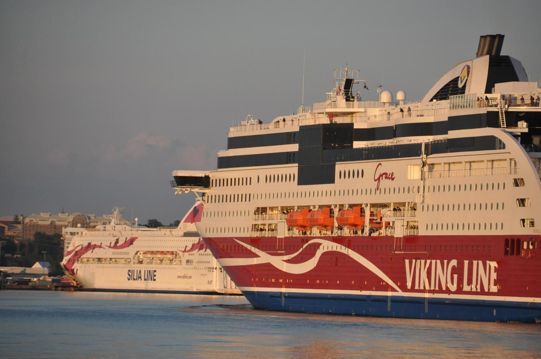 Ett Vikiing Line fartyg