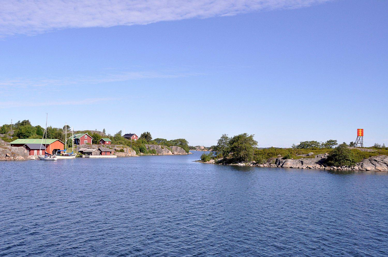 Skärgårdsvy från Nagu Berghamn