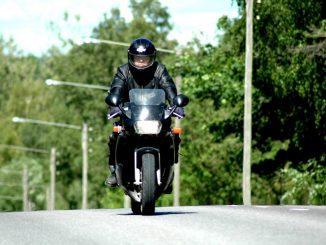 Motorcykel.