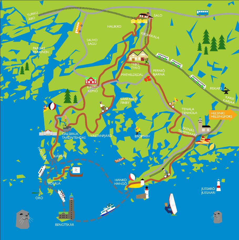 åbo karta karta kustrutten   Åbo Underrättelser åbo karta