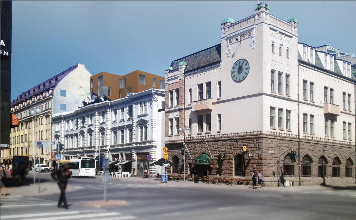 Hur och gata i stad