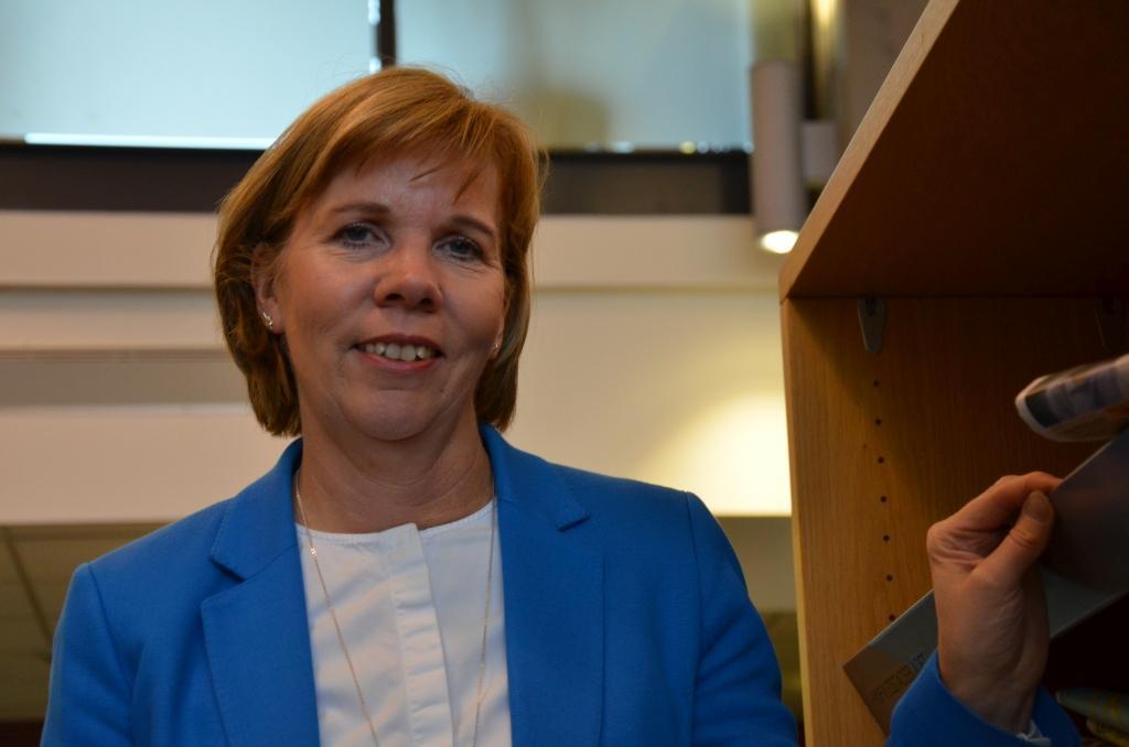 """Anna-Maja Henriksson: """"Intressantare att rösta då man inte vet vem som blir vald"""""""