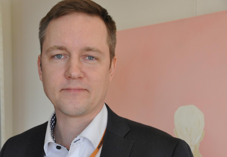 Henrik Mantere är chef för varvets skrovproduktion.