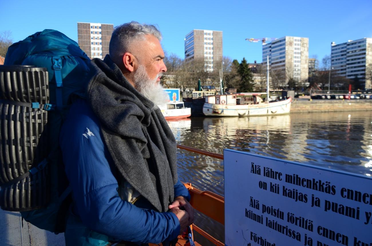 Från Åbo till Trondheim – portugis blir första pilgrimen på St Olofs sjöled