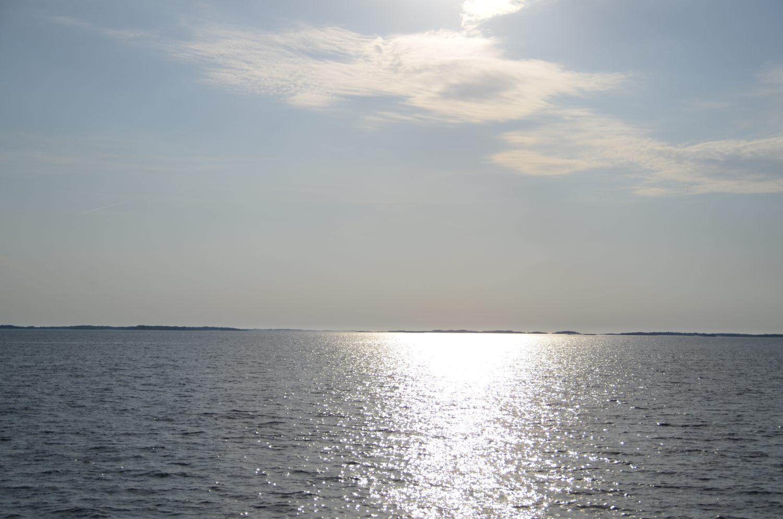 Sol och hav.