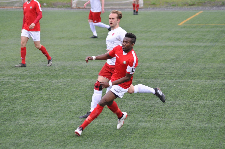 Två fotbollsspelare