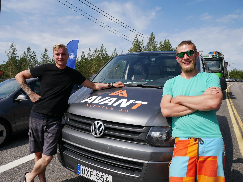 Remy Kurm och Kasper Heinsaar