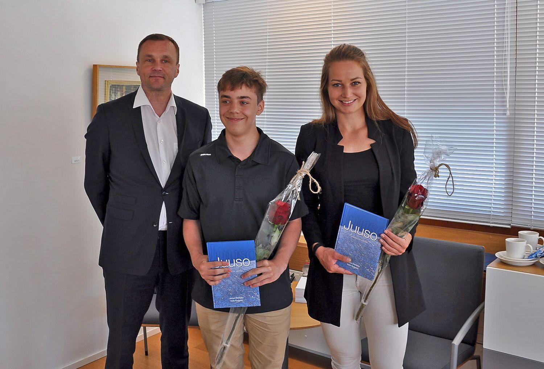 Unga idrottare får stipendier