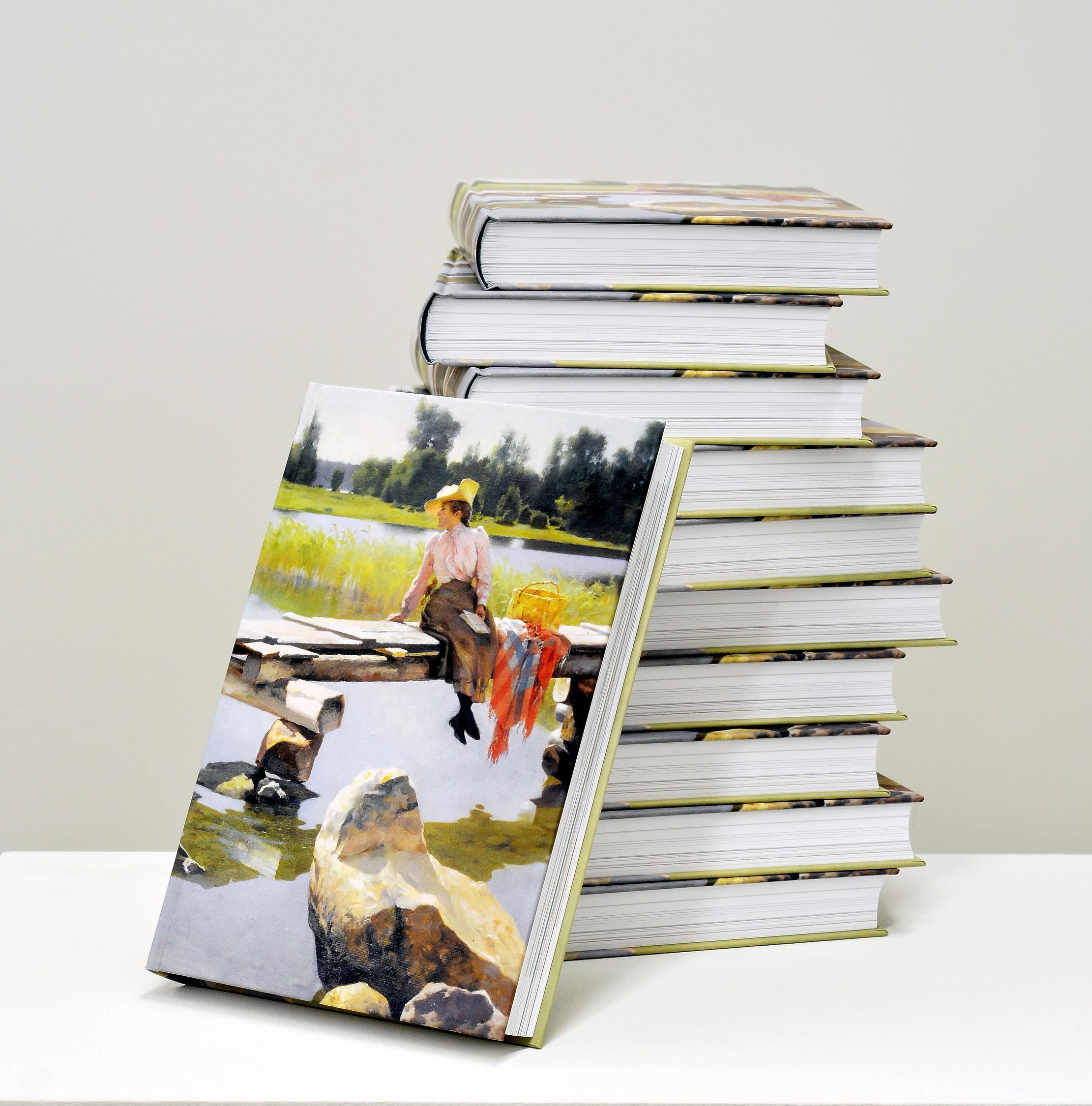 Bild på den nya boken.