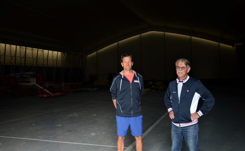 Ville Nygård och Johan Skogman