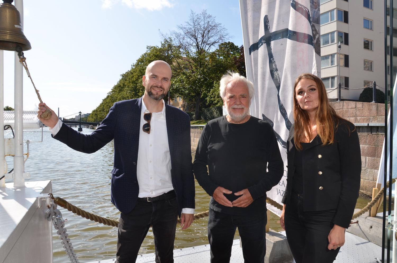 Tre personer som representerar jazzfestivaler ska samarbeta under namnet Archipelago Sea Jazz.