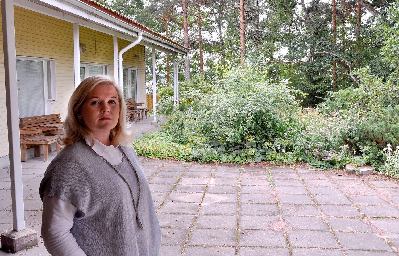 Hanna Ansas vid Karinahemmet
