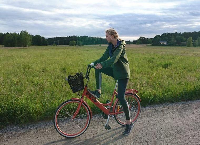 Cykelstöld med lyckligt slut
