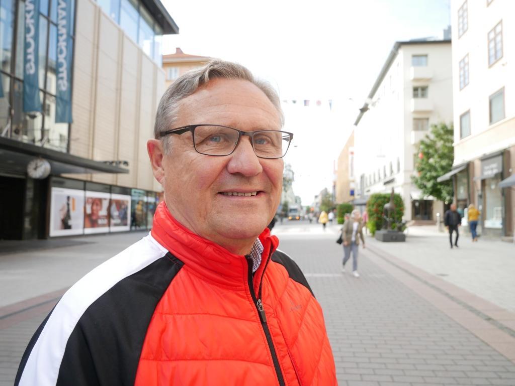 Pentti Haapanen pensionär, Loimaa — En borgmästare skulle vara bra. Den personen blir en frontman för staden.