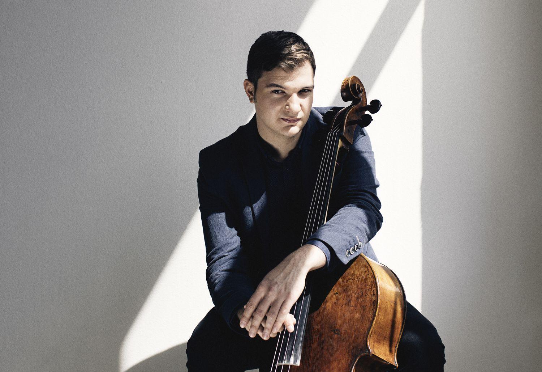 Ung man med cello