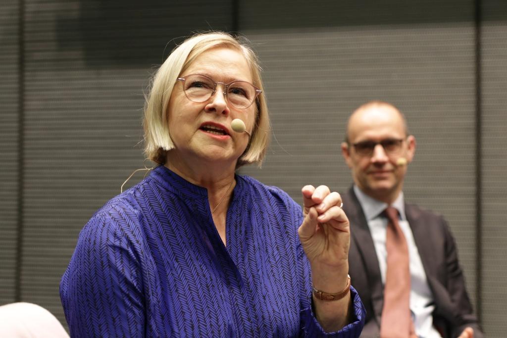 Enligt Åbo Akademis nya rektor Moira von Wright kommer universitetet att öka samarbetet med Yrkeshögskolan Novia. Foto: Åbo Akademi