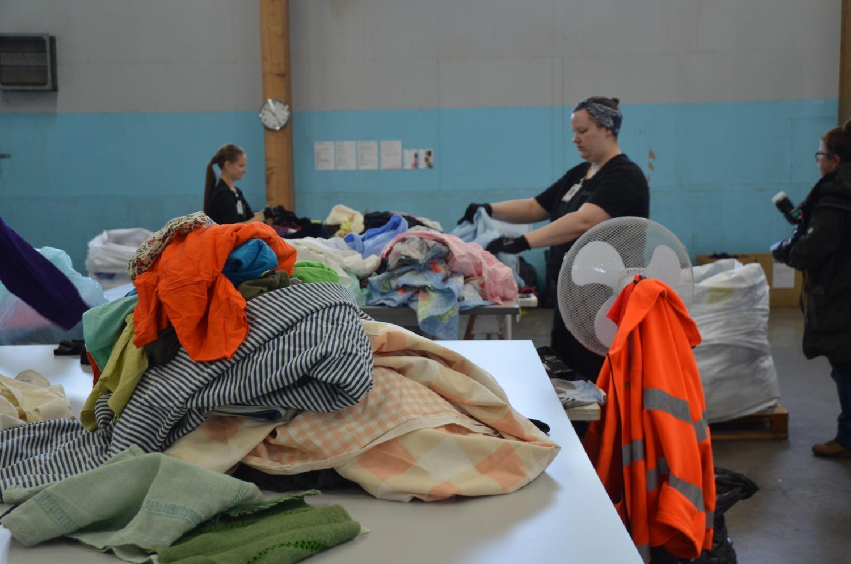 Sortering av insamlade textilier
