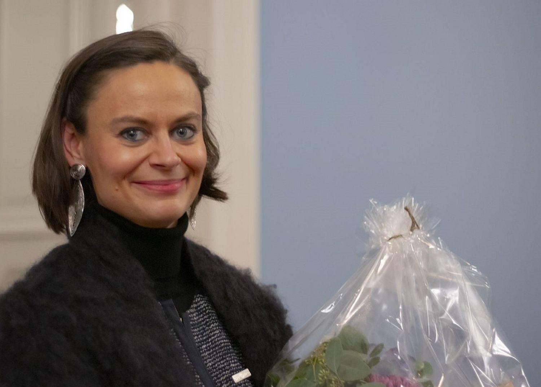 Anna-Karin Tötterman valdes till ordförande för SFP i Åbo 18.11.19.