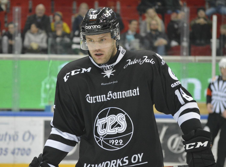 Zach Budish TPS ishockey
