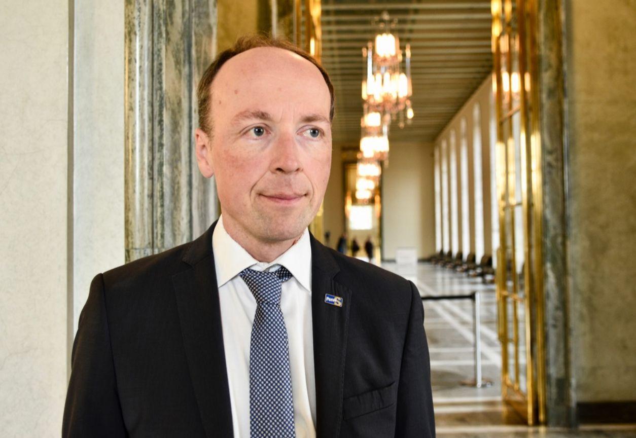 En politiker,Jussi Halla-Aho