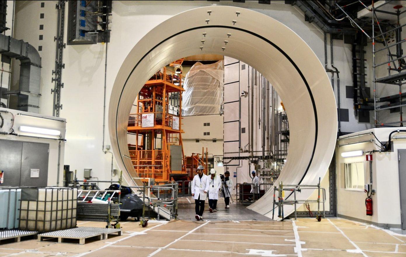Kärnkraftverk. Enligt en enkät som Yle har låtit göra anser 48 procent av finländarna att kärnkraft är en hållbar energikälla. Foto: Linnea de la Chapelle/SPT