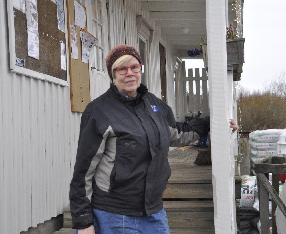 Birgittas hjärta klappar för Holmströms Lanthandel – ser det som viktigt för byns överlevnad att butiken finns kvar