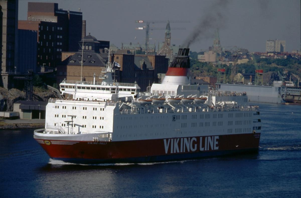 Olycksdrabbat fartyg