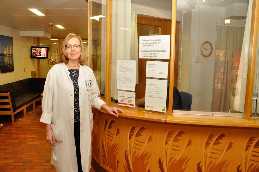 Nyfödd på Åbolands sjukhus för 55 år sedan – nu är hon överläkare