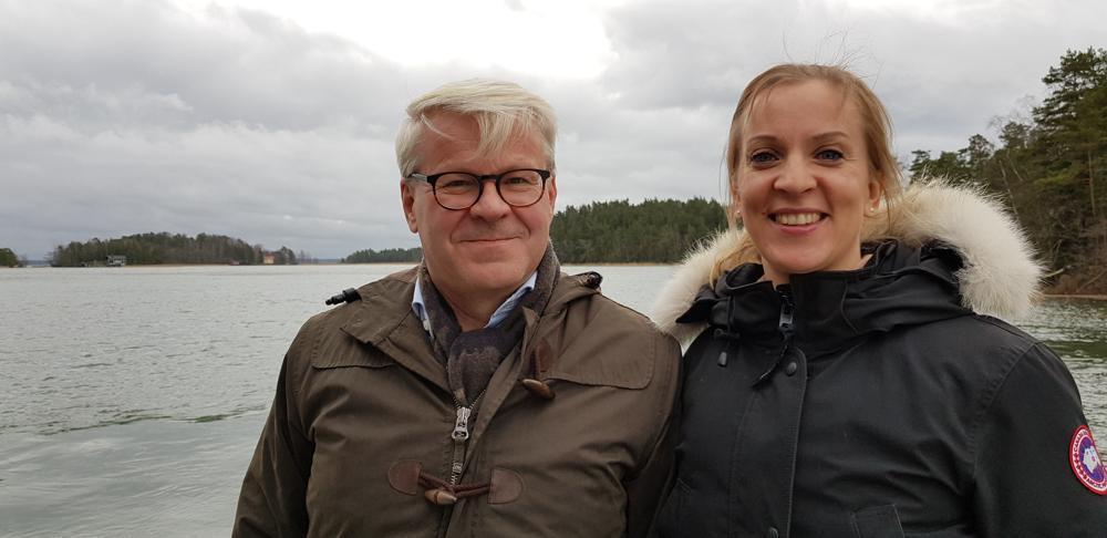 Nådendals stadsdirektör och Skärgårdsdelegationens ordförande