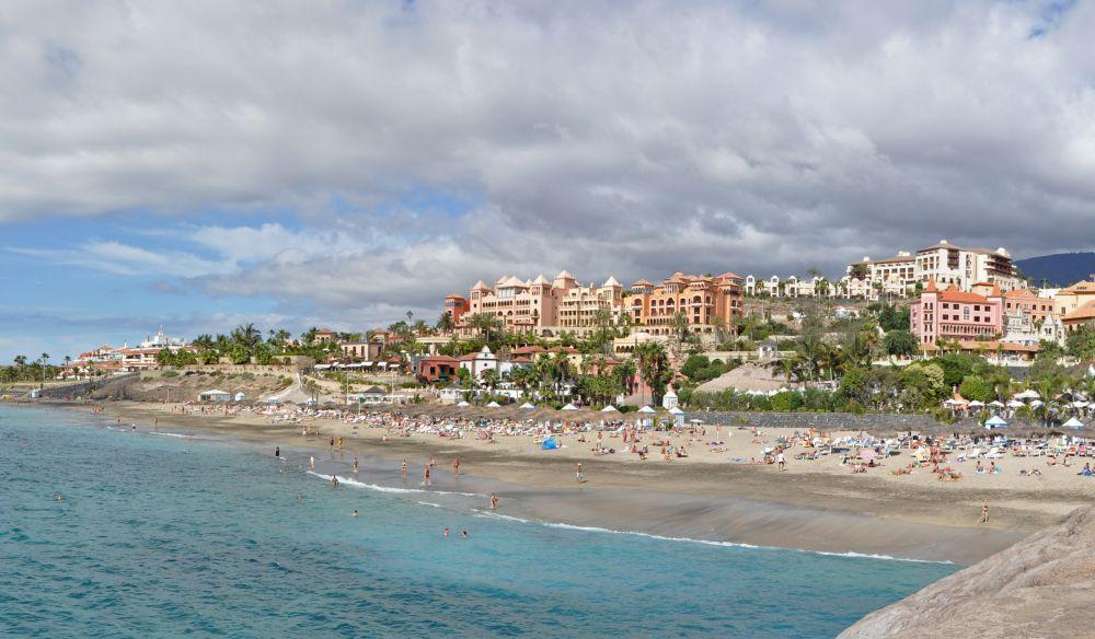 Strand och badort