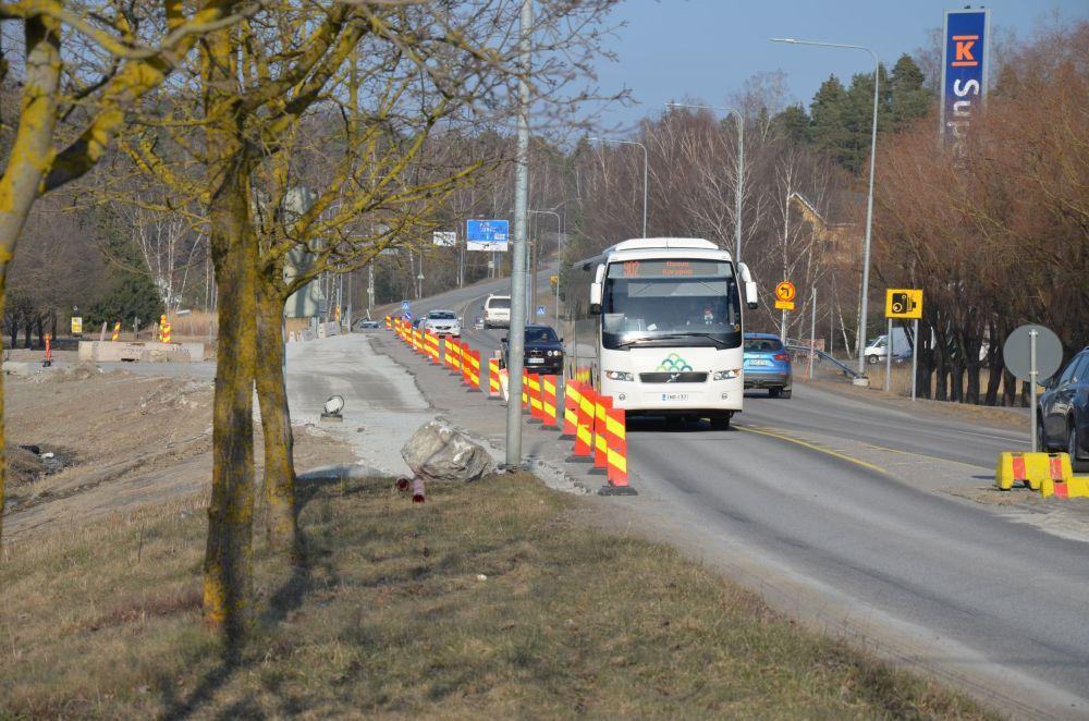 Skärgårdsbuss i Pargas