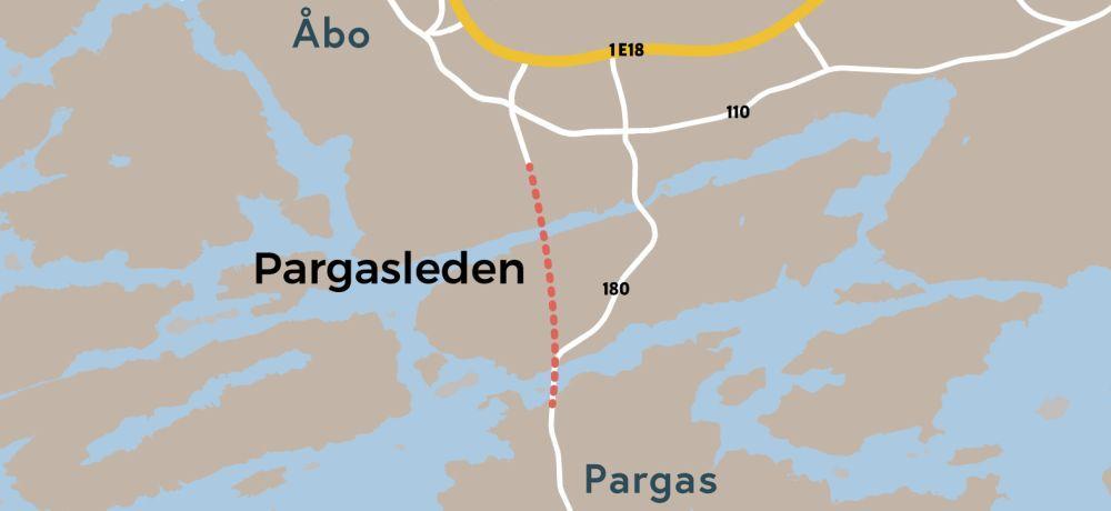 Karta över Kustö med mera