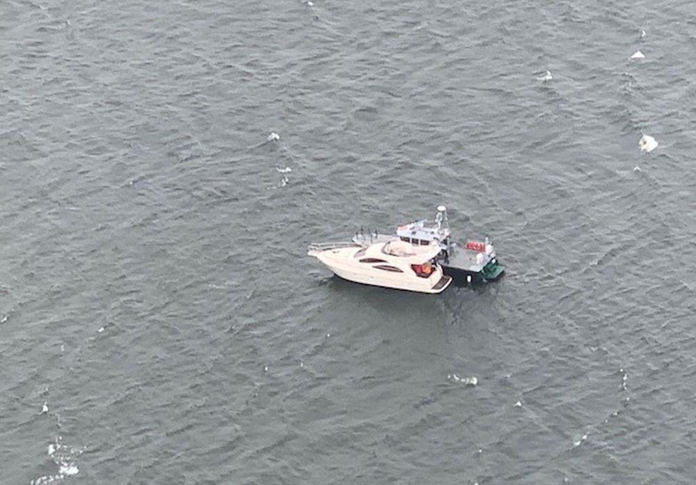 Båtar fotograferade från luften