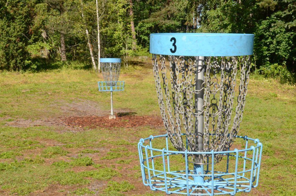 Hemligheten bakom en frisbeegolfpark  — noggrann planering är A och O