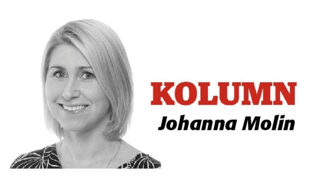 Johanna Molin kolumn